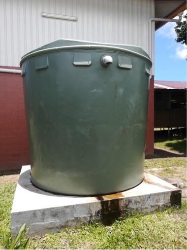 ワラタン:雨水タンク