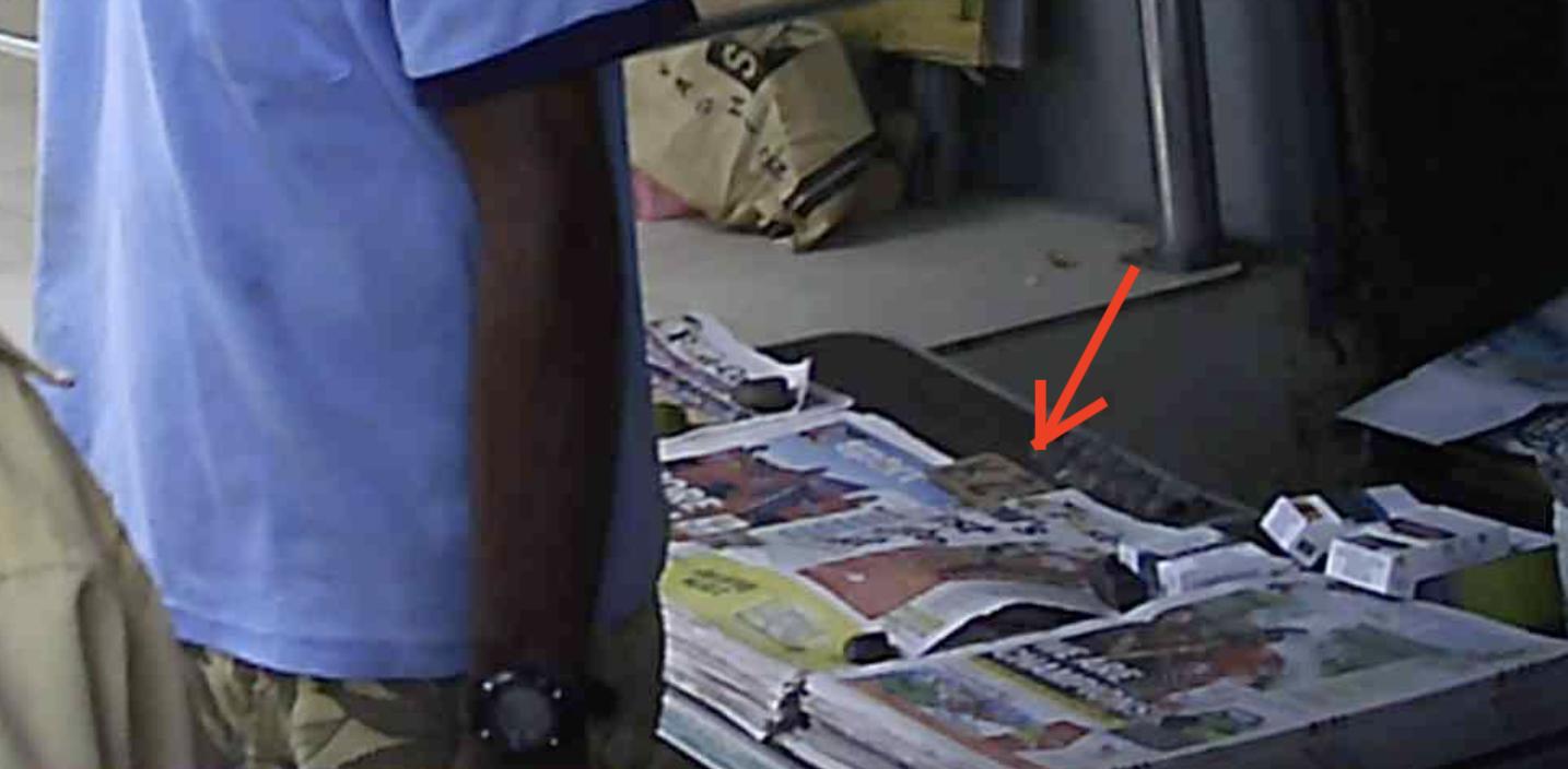 パプアの新聞 2.5キナ