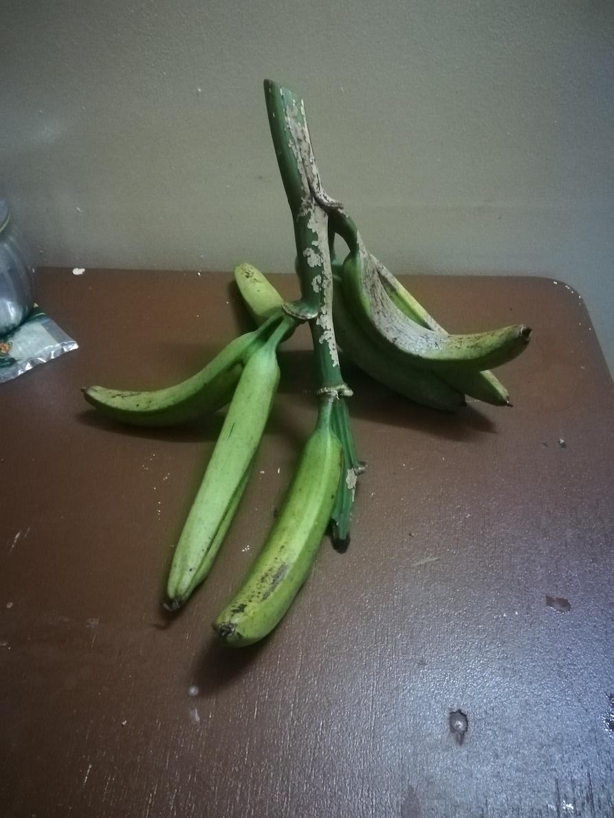 パプアのバナナ(ポテト)