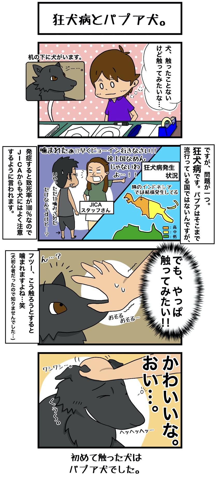 3 狂犬病とパプア犬re
